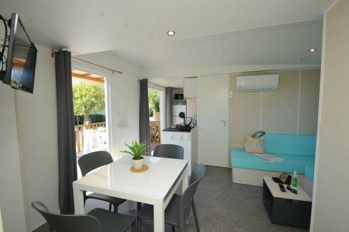Mobil home modele 1 coin séjour location